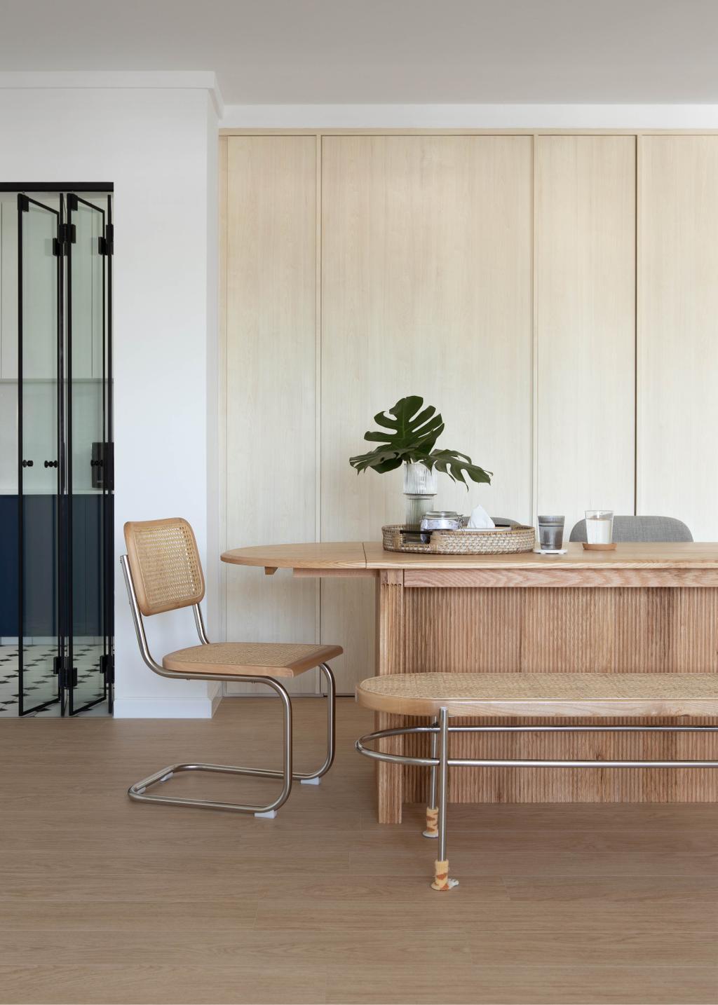 Scandinavian, HDB, Dining Room, Boon Tiong Road, Interior Designer, Ascend Design, Contemporary