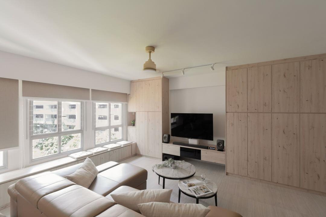 Canberra Street Living Room Interior Design 16