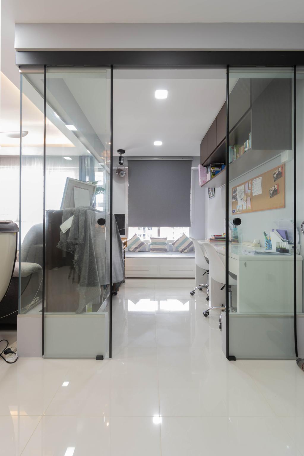 Contemporary, HDB, Study, Ang Mo Kio Street 23, Interior Designer, Yang's Inspiration Design