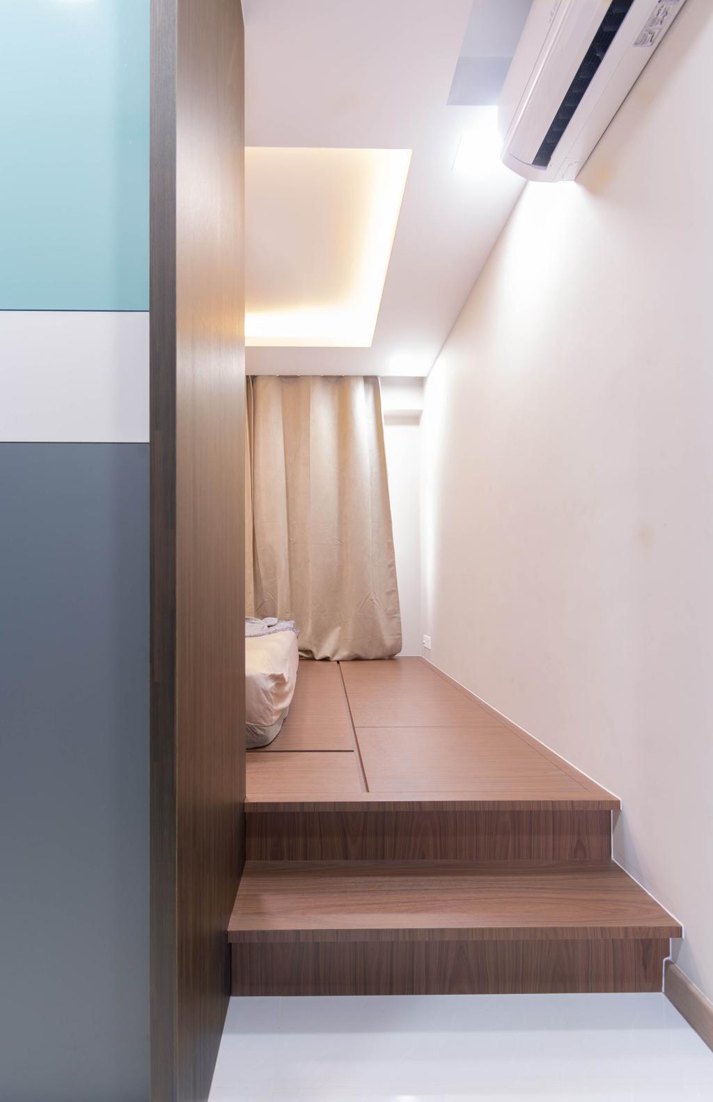 Contemporary, HDB, Bedroom, Ang Mo Kio Street 23, Interior Designer, Yang's Inspiration Design