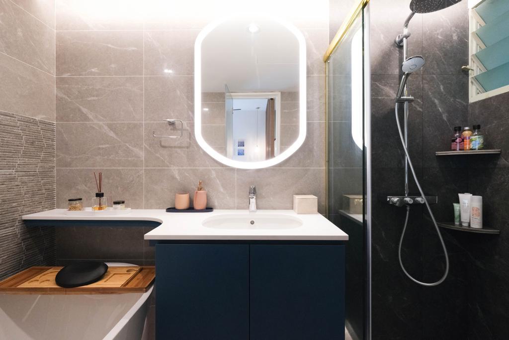 Contemporary, Condo, Bathroom, The Clearwater, Interior Designer, Starry Homestead, Scandinavian