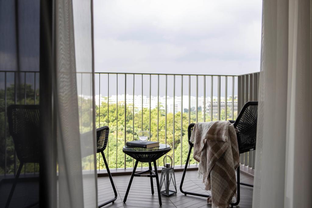 Contemporary, HDB, Balcony, Yishun Avenue 11, Interior Designer, Parallelogram Design