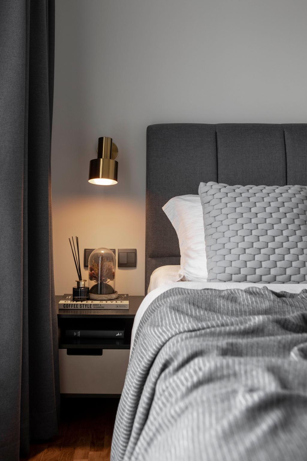 Contemporary, HDB, Bedroom, Yishun Avenue 11, Interior Designer, Parallelogram Design