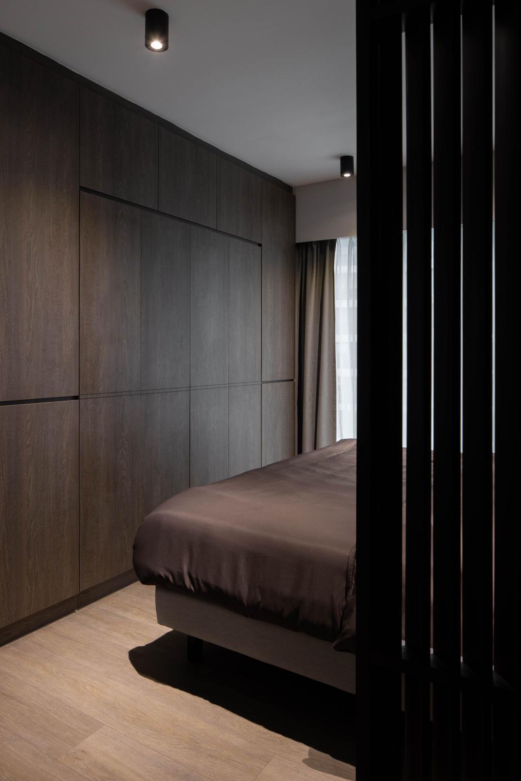 Contemporary, HDB, Bedroom, Bishan Street 24, Interior Designer, Parallelogram Design