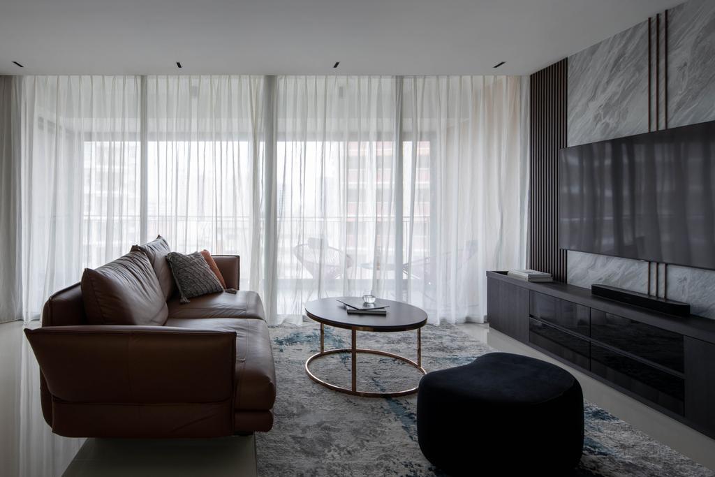 Contemporary, HDB, Living Room, Bishan Street 24, Interior Designer, Parallelogram Design