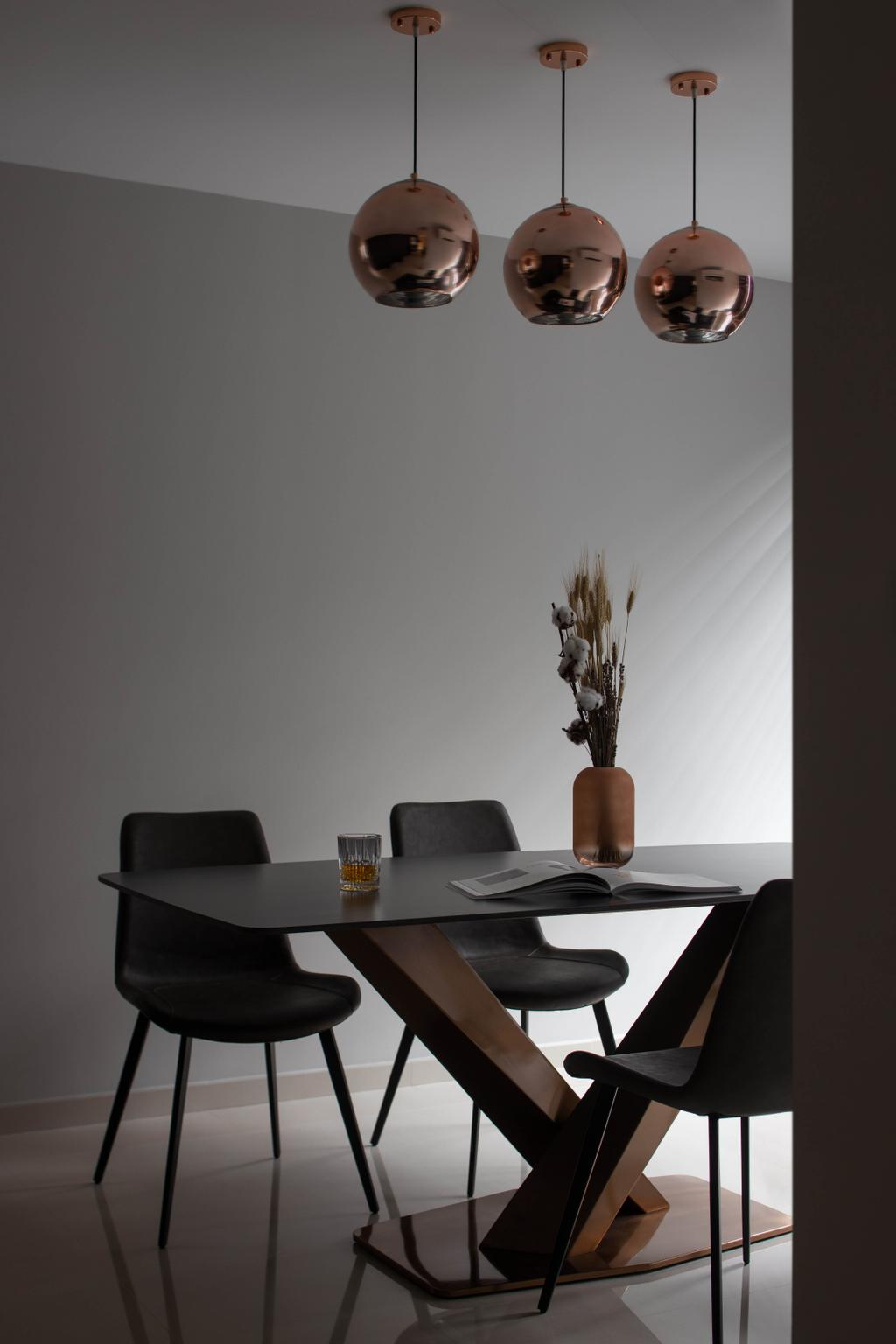 Contemporary, HDB, Dining Room, Bishan Street 24, Interior Designer, Parallelogram Design