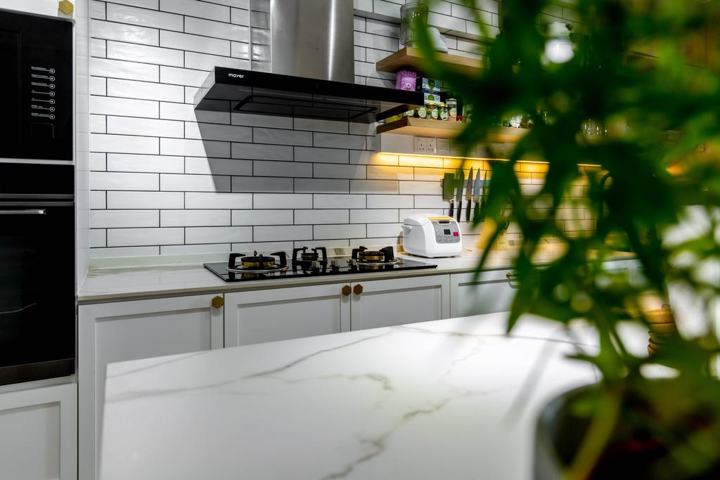 Contemporary, HDB, Kitchen, Tampines Street 22, Interior Designer, EA Interior Design, Scandinavian
