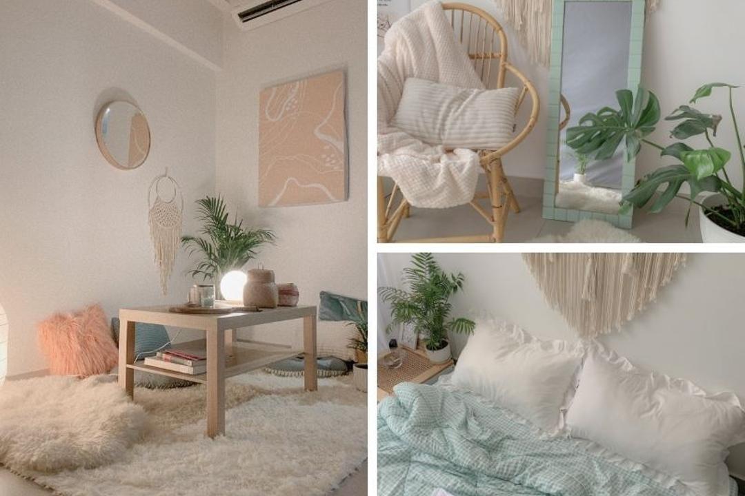 DIY Decor Makes a Rental Studio Apartment in KL Boho Chic 1