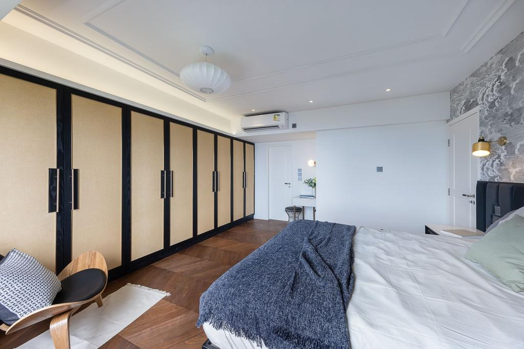 當代, 私家樓, 睡房, 宇晴軒, 室內設計師, am PLUS Designs Limited