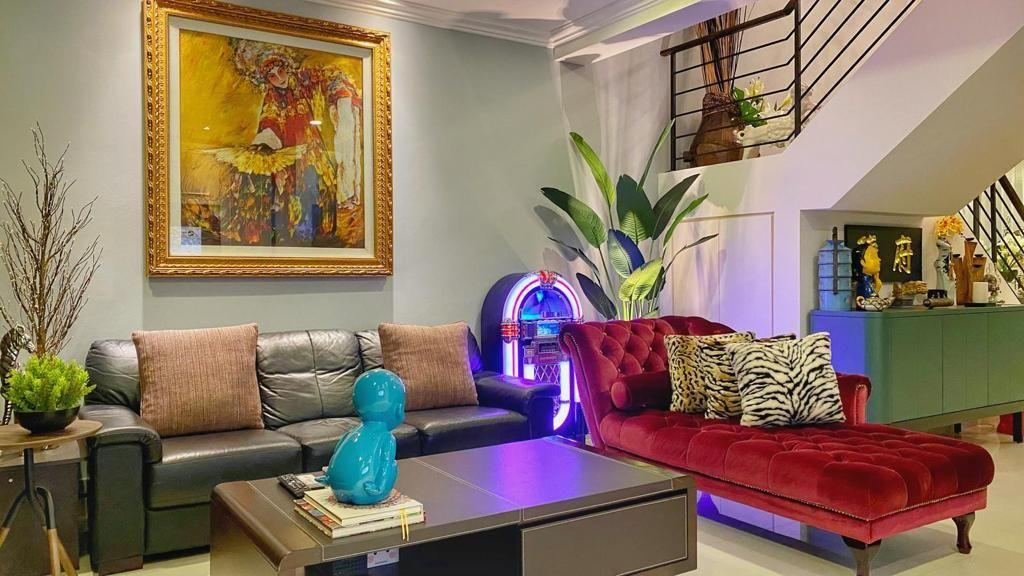 Eclectic, HDB, Living Room, Hougang Avenue 8, Interior Designer, Overhauled In. Design, Vintage
