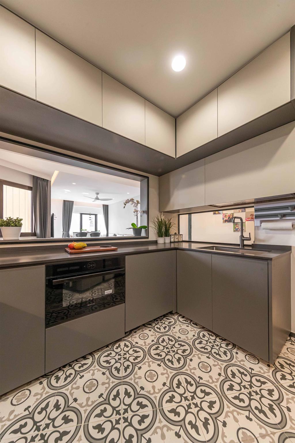 Condo, Kitchen, Bayshore Park, Interior Designer, Ciseern