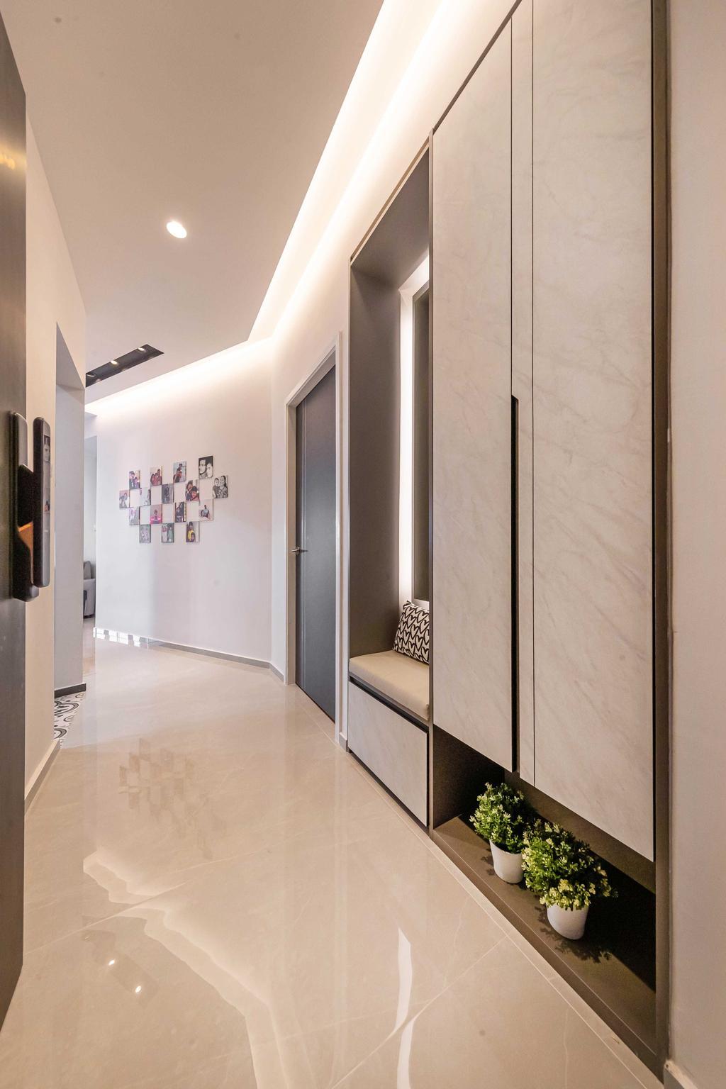 Condo, Living Room, Bayshore Park, Interior Designer, Ciseern