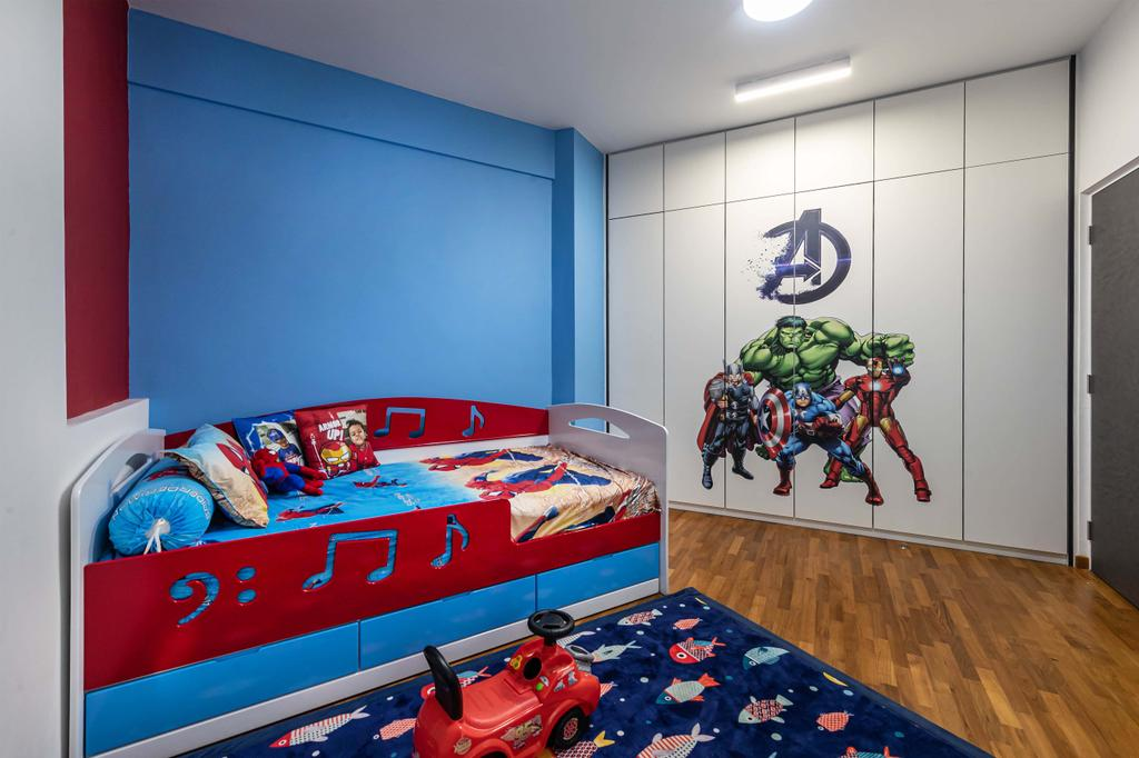 Condo, Bedroom, Bayshore Park, Interior Designer, Ciseern