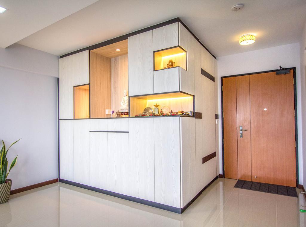Contemporary, HDB, Living Room, Woodlands Street 13, Interior Designer, Maxwell Interior Design