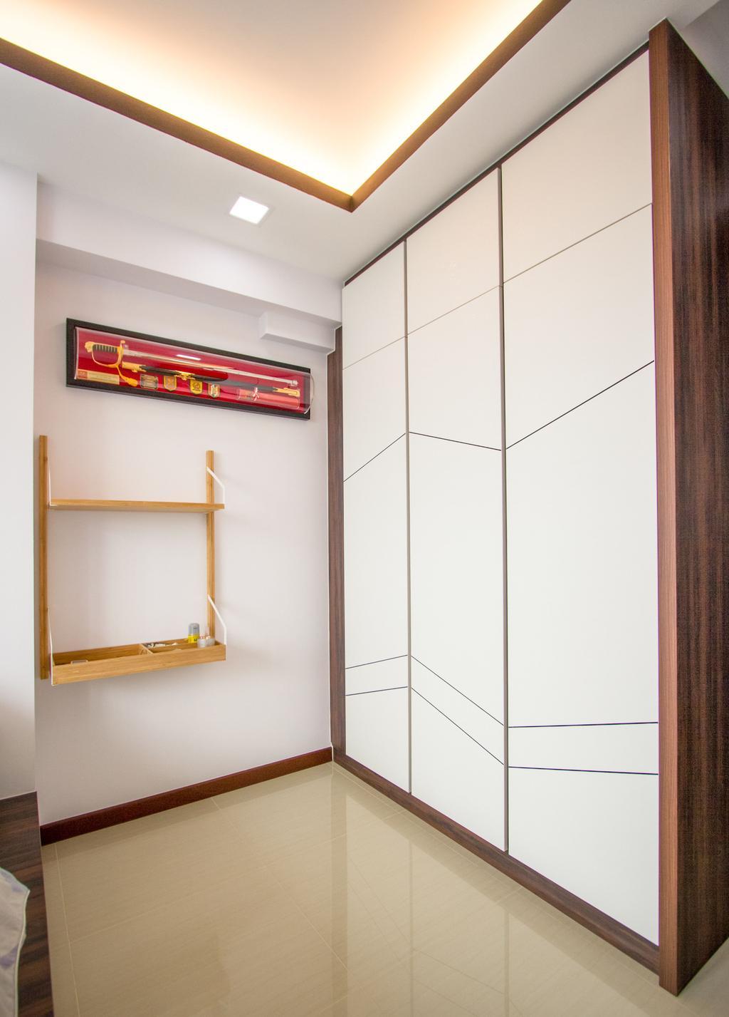 Contemporary, HDB, Bedroom, Woodlands Street 13, Interior Designer, Maxwell Interior Design