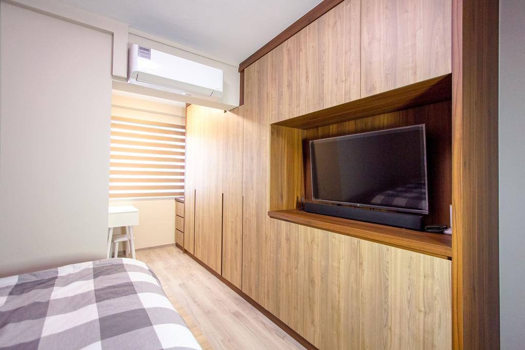 Contemporary, HDB, Bedroom, Tampines Central 1, Interior Designer, Maxwell Interior Design