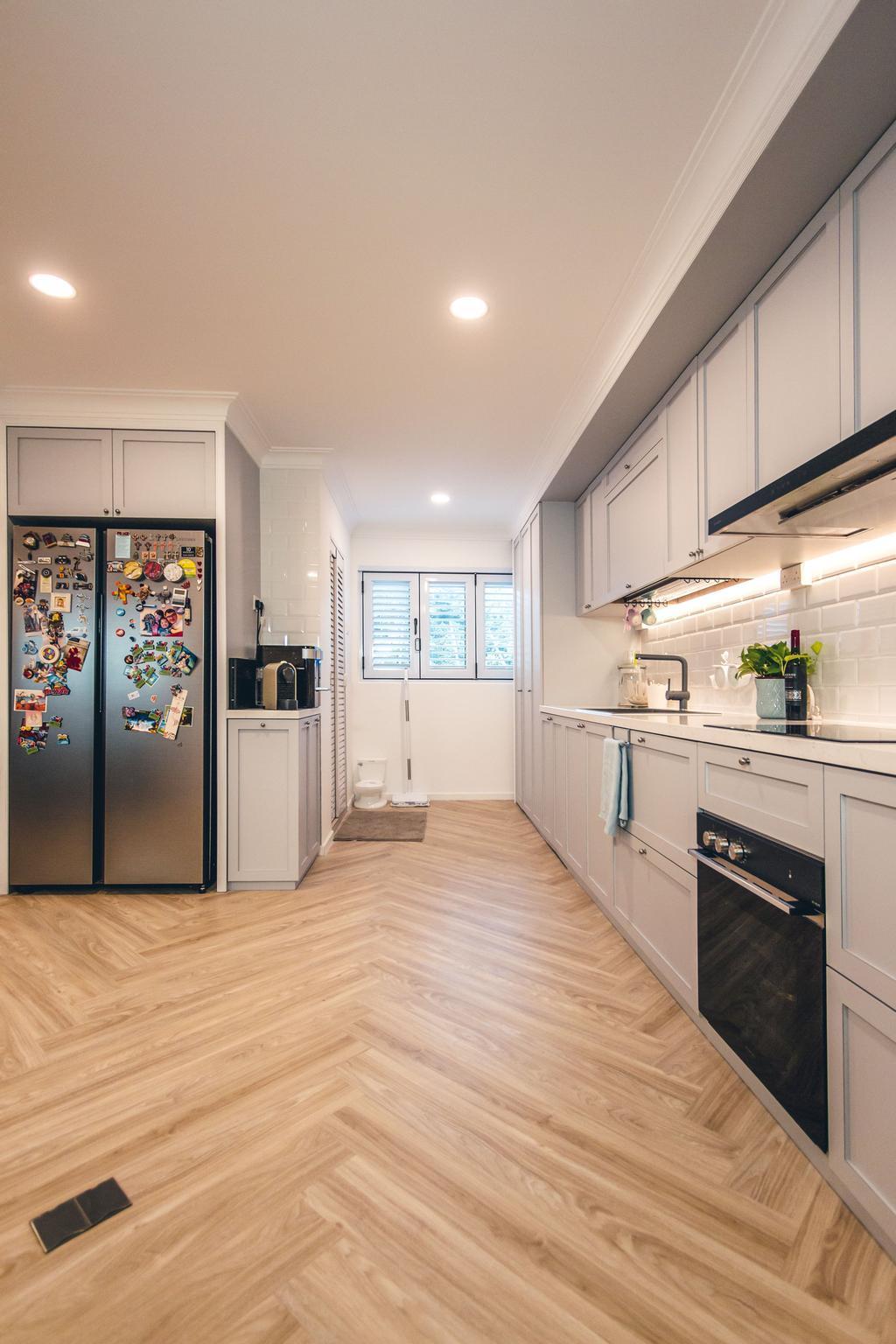 Contemporary, HDB, Kitchen, Bukit Batok Street 52, Interior Designer, Maxwell Interior Design