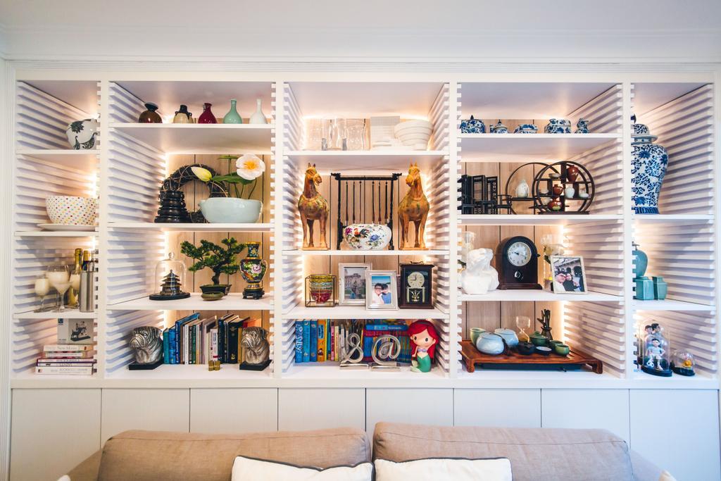 Contemporary, HDB, Living Room, Bukit Batok Street 52, Interior Designer, Maxwell Interior Design