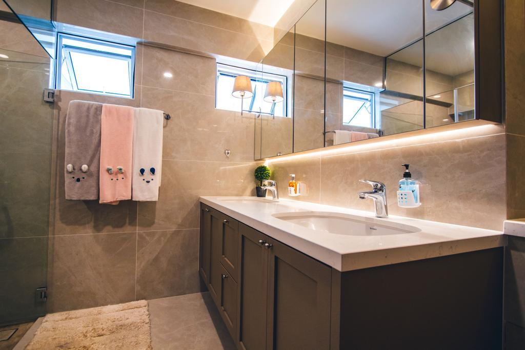 Contemporary, HDB, Bathroom, Bukit Batok Street 52, Interior Designer, Maxwell Interior Design
