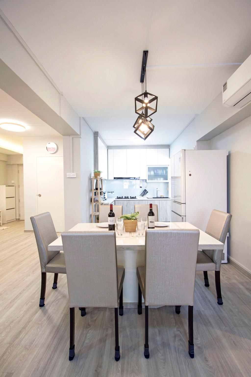 Contemporary, HDB, Dining Room, Woodlands Crescent, Interior Designer, Maxwell Interior Design