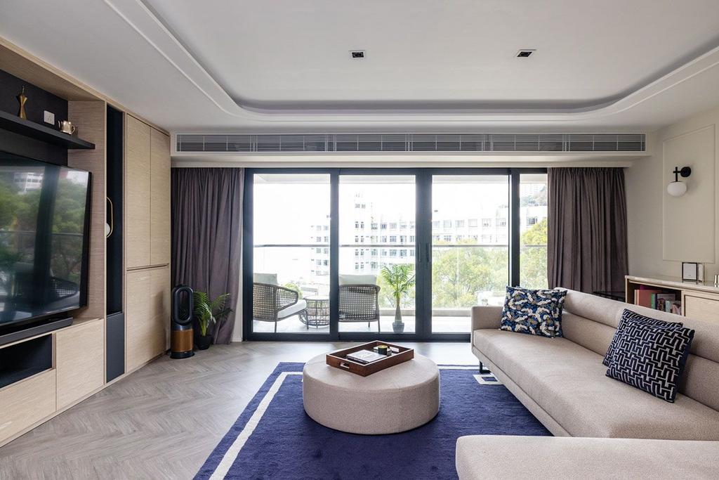 當代, 私家樓, 客廳, 美景臺, 室內設計師, MAD Studio Limited