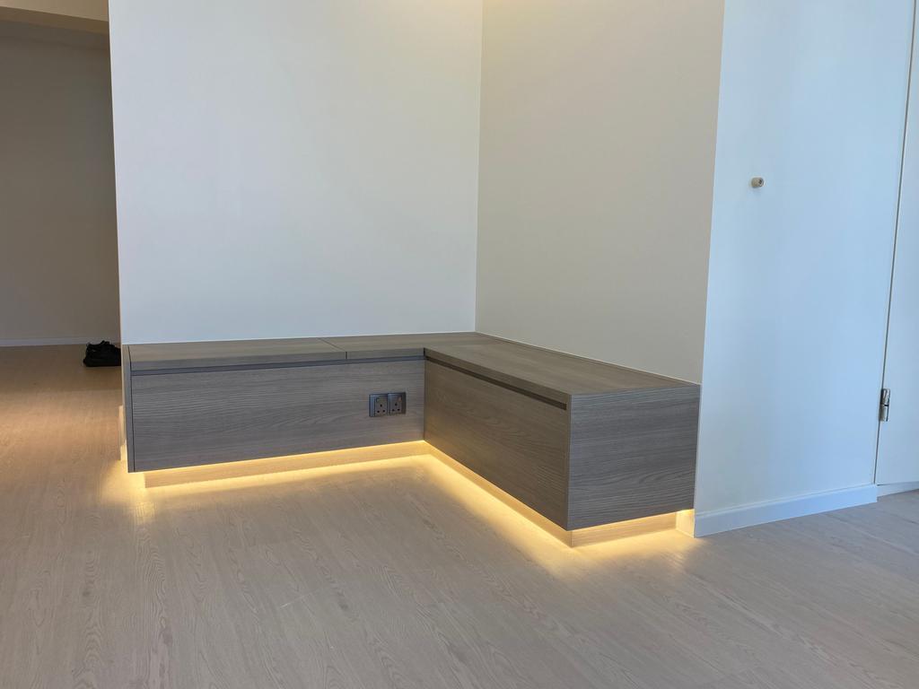 Contemporary, HDB, Living Room, Boon Keng Road, Interior Designer, D'Werks Interior Design, Scandinavian