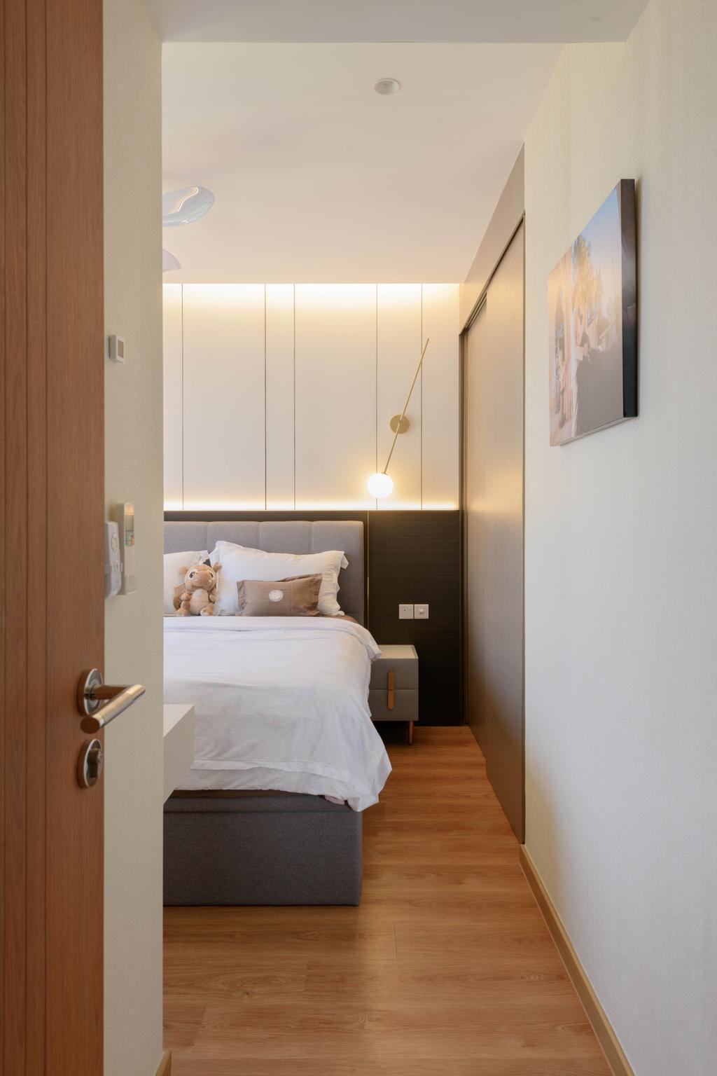 Contemporary, Condo, Bedroom, Rivercove Residences, Interior Designer, Dyel Design