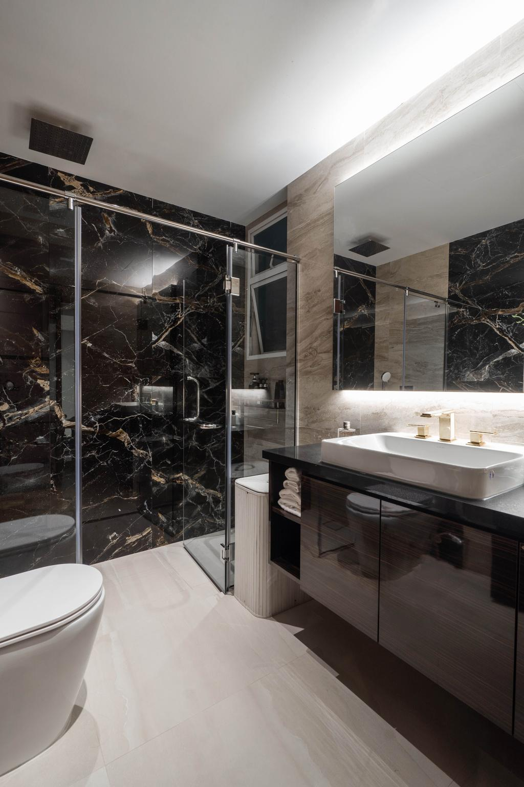 Modern, Condo, Bathroom, The Tropica, Interior Designer, Le Interior Affairs, Contemporary