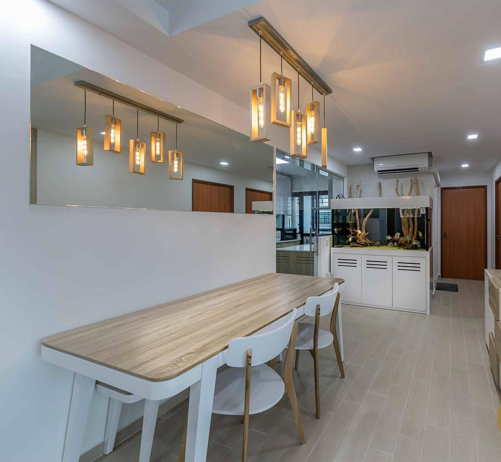 Contemporary, HDB, Dining Room, Choa Chu Kang Avenue 1, Interior Designer, ID Gallery Interior