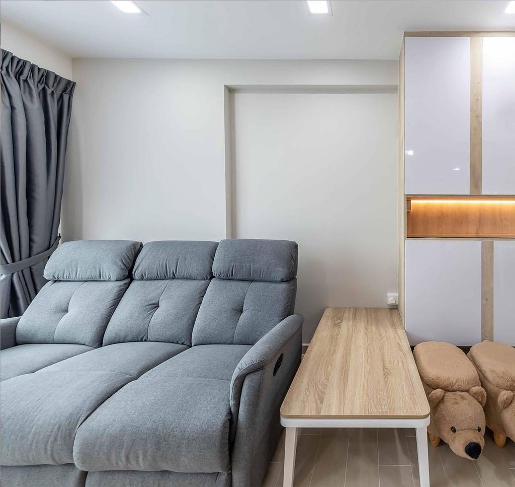 Contemporary, HDB, Living Room, Choa Chu Kang Avenue 1, Interior Designer, ID Gallery Interior