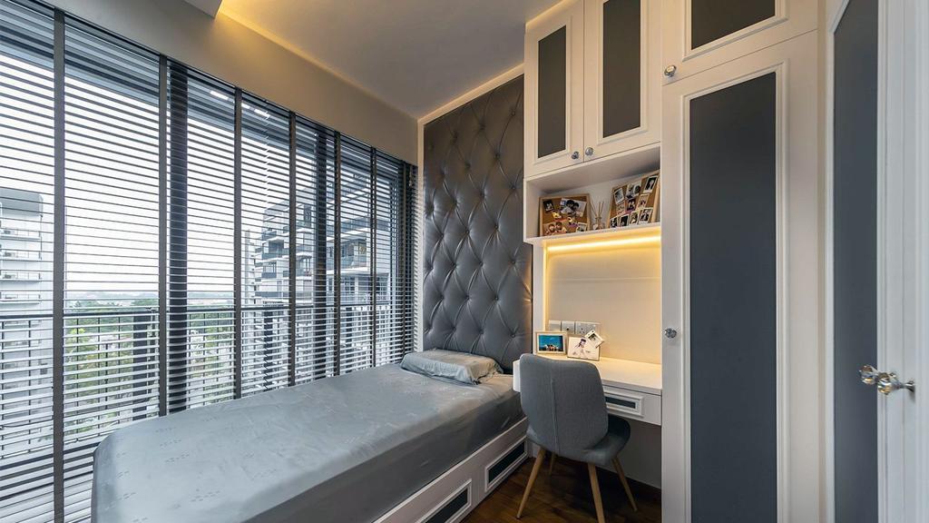Contemporary, HDB, Bedroom, Yishun Street, Interior Designer, ID Gallery Interior