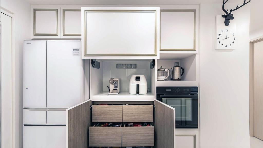 Contemporary, HDB, Kitchen, Yishun Street, Interior Designer, ID Gallery Interior