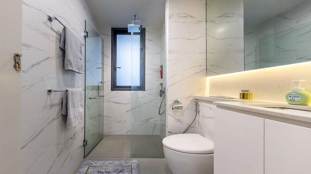 Contemporary, HDB, Bathroom, Yishun Street, Interior Designer, ID Gallery Interior