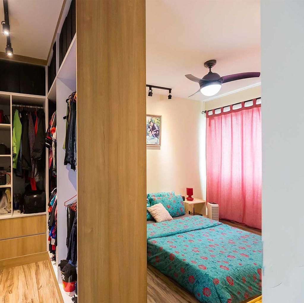 Contemporary, HDB, Bedroom, Boon Lay Drive, Interior Designer, ID Gallery Interior