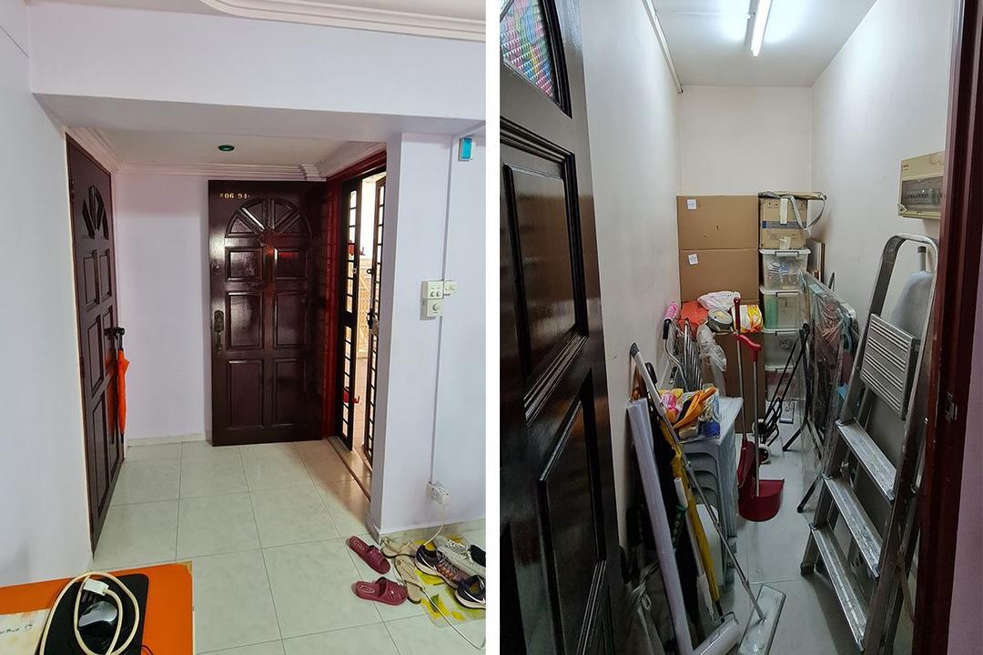 retro 5-room HDB resale flat renovation singapore