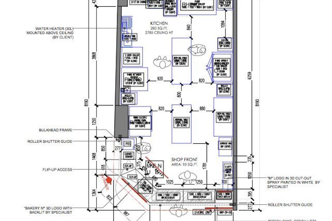 Collyer Quay, Gridline Design Lab, Contemporary, Commercial, Commercial Floorplan, Final Floorplan