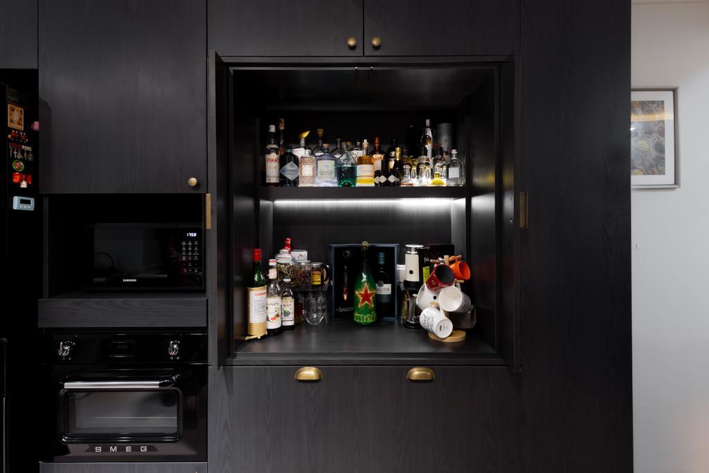 Scandinavian, HDB, Kitchen, Bedok Reservoir Road, Interior Designer, Des & Co Interior, Contemporary
