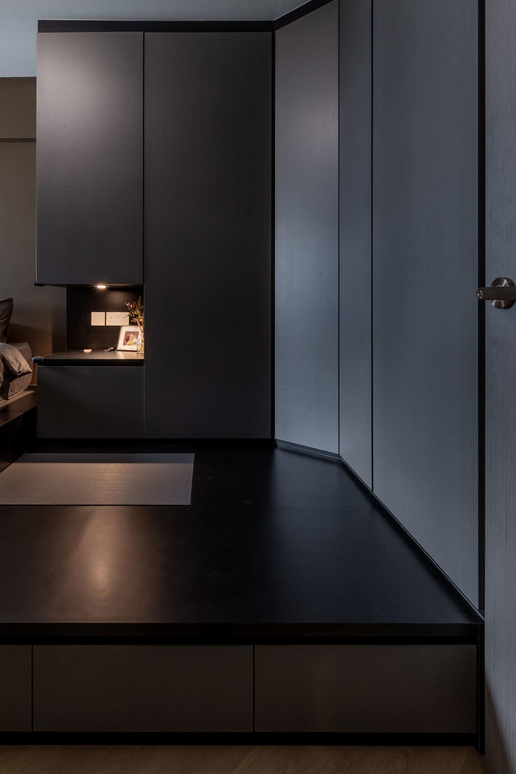 Scandinavian, HDB, Bedroom, Bedok Reservoir Road, Interior Designer, Des & Co Interior, Contemporary