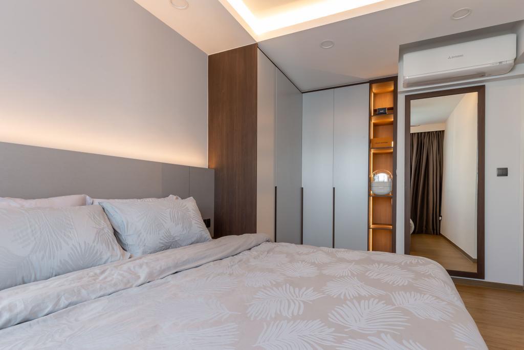 Contemporary, HDB, Bedroom, Segar Road, Interior Designer, Ataz Haus Interior Design, Scandinavian
