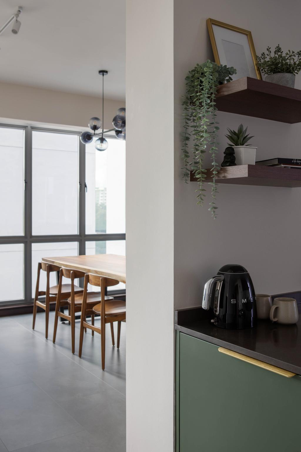 Modern, Condo, Dining Room, Central View, Interior Designer, Authors • Interior & Styling, Contemporary