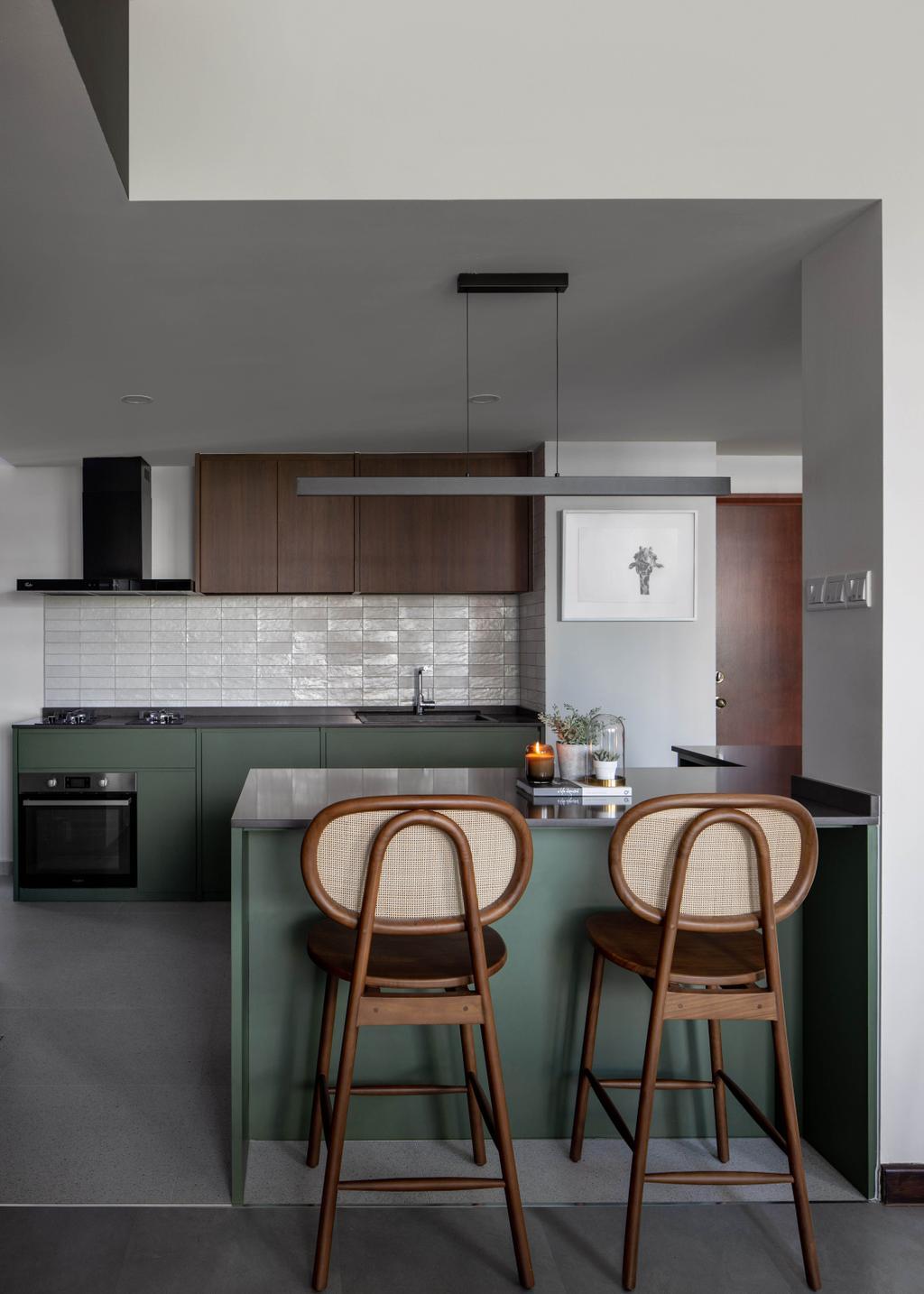 Modern, Condo, Kitchen, Central View, Interior Designer, Authors • Interior & Styling, Contemporary