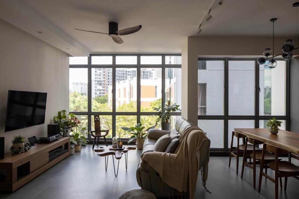 Modern, Condo, Living Room, Central View, Interior Designer, Authors • Interior & Styling, Contemporary