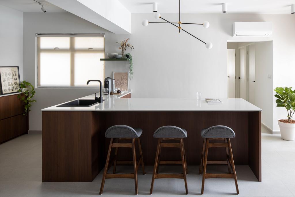 Modern, HDB, Kitchen, Tanglin Halt Road, Interior Designer, Authors • Interior & Styling, Minimalist