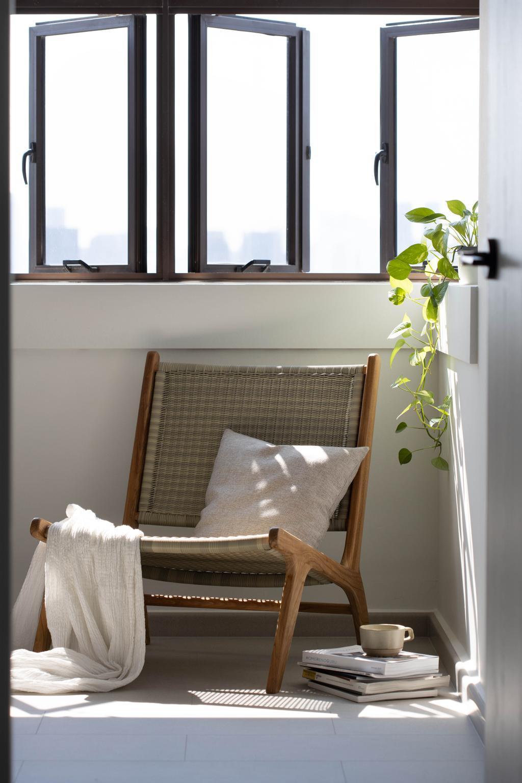 Modern, HDB, Balcony, Tanglin Halt Road, Interior Designer, Authors • Interior & Styling, Minimalist