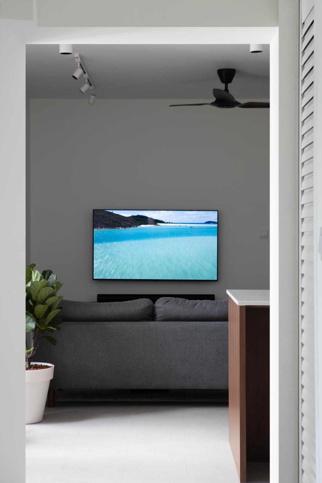 Modern, HDB, Living Room, Tanglin Halt Road, Interior Designer, Authors • Interior & Styling, Minimalist