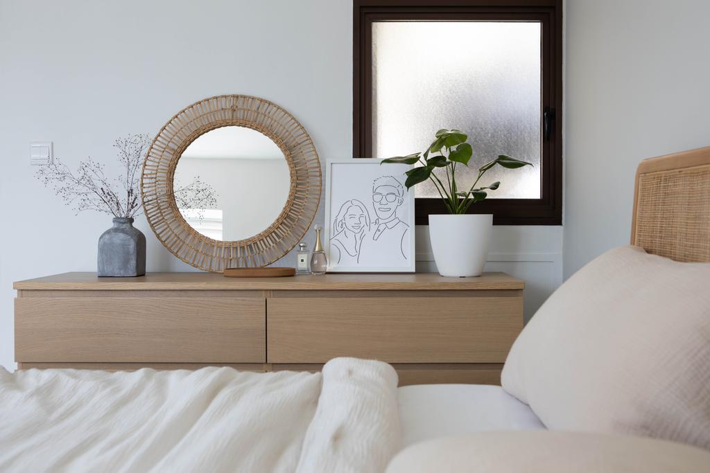Modern, HDB, Bedroom, Tanglin Halt Road, Interior Designer, Authors • Interior & Styling, Minimalist