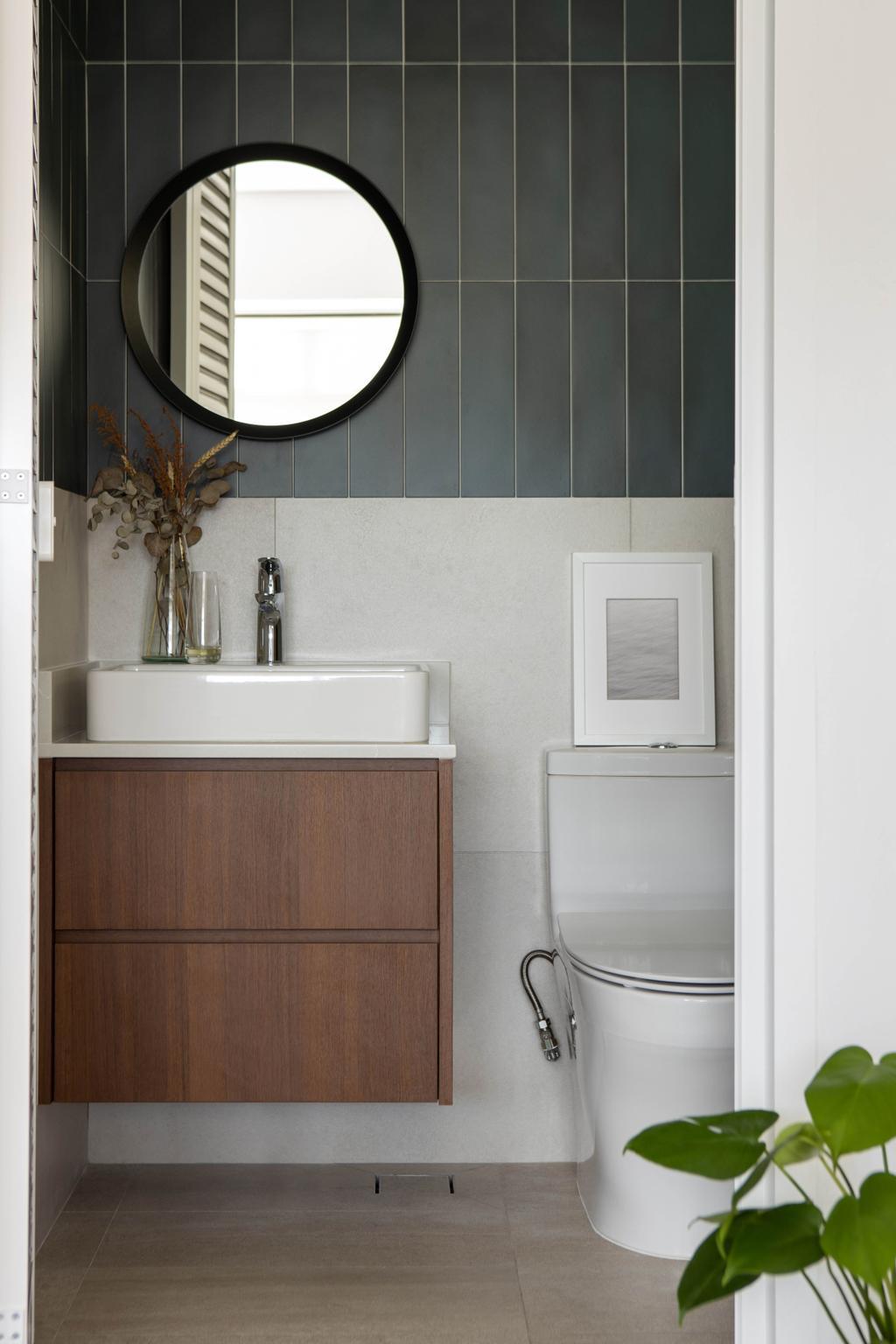 Modern, HDB, Bathroom, Tanglin Halt Road, Interior Designer, Authors • Interior & Styling, Minimalist