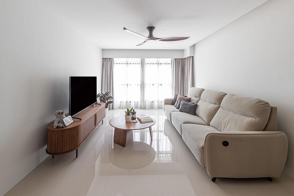 Scandinavian, HDB, Bidadari Park Drive, Interior Designer, Noble Interior Design, Contemporary