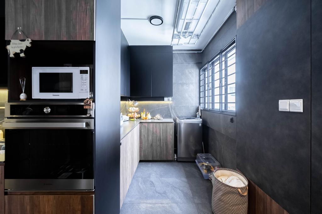 Contemporary, HDB, Kitchen, Bishan Street 13, Interior Designer, Design 4 Space, Modern