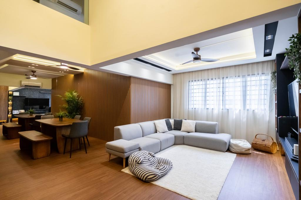 Contemporary, HDB, Living Room, Bishan Street 13, Interior Designer, Design 4 Space, Modern